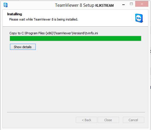 install teamviewer 2